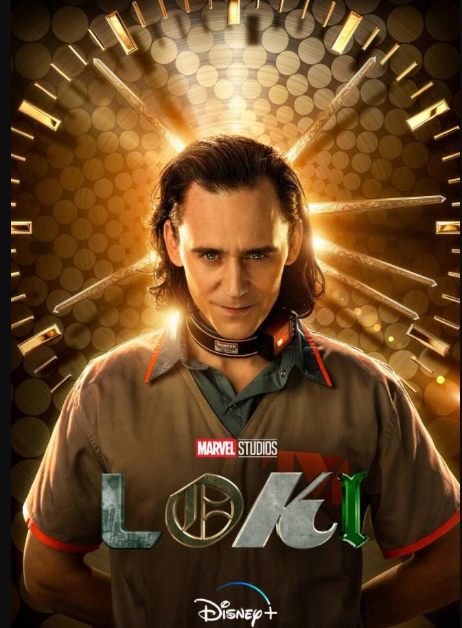 Loki Tom Hiddleston Disney Plus poster