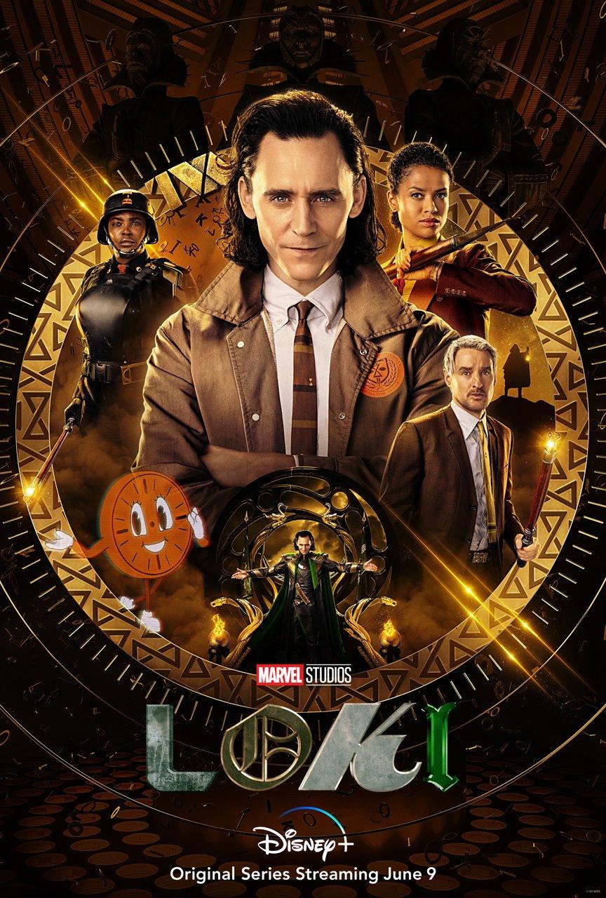 Loki poster Disney Plus