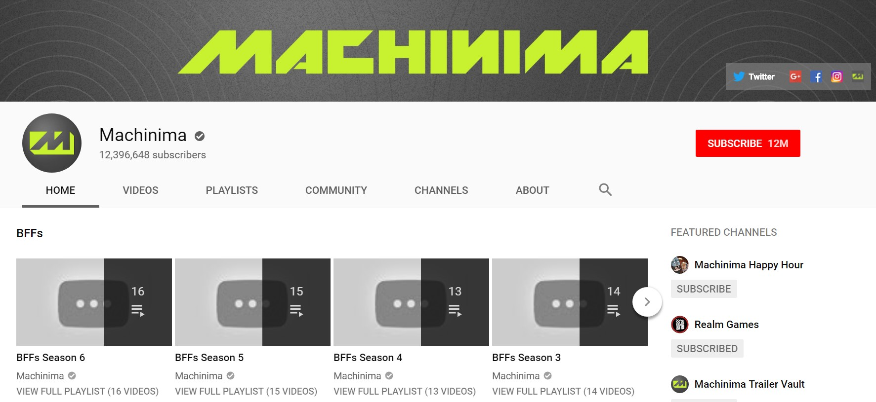 Machinima YouTube Gets Axed | Cosmic Book News