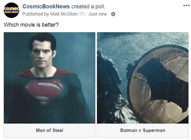 Man of Steel Batman Superman poll