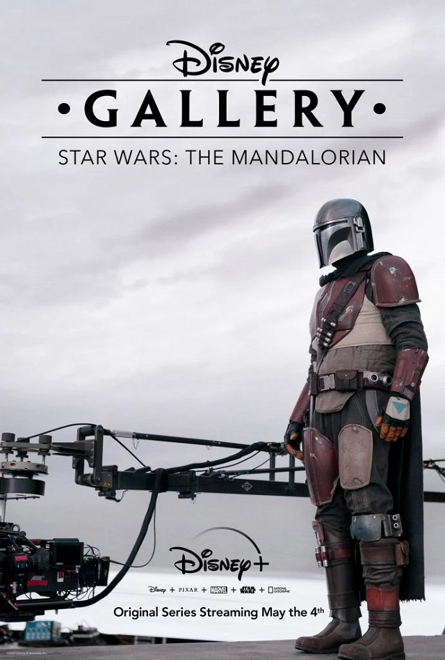 The Mandalorian BTS poster