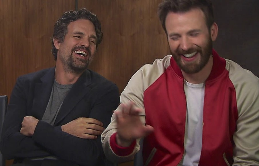 Mark Ruffalo and Chris Evans