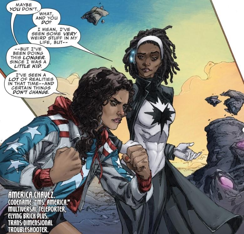 Marvel Comics America Chavez