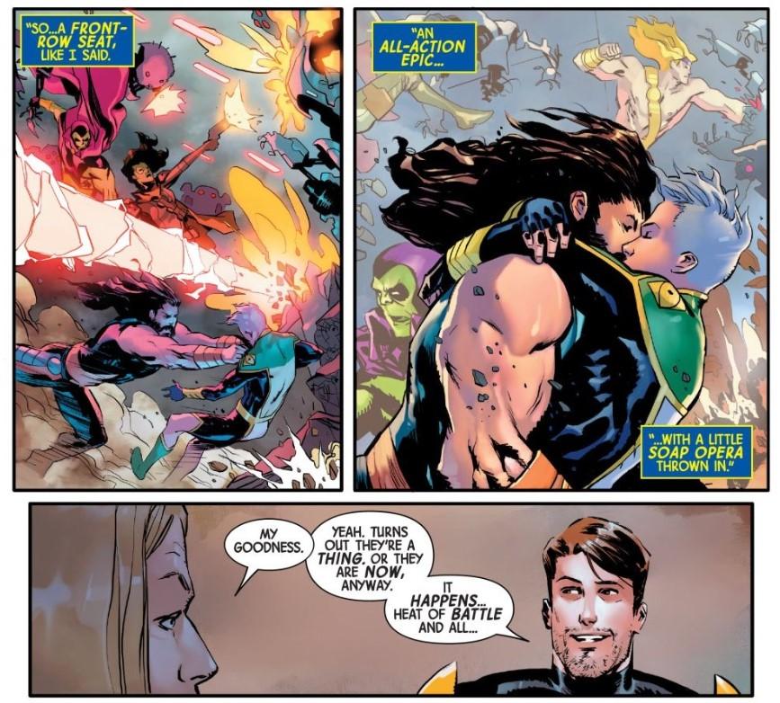 Marvel Comics Hercules Marvel Boy bi-sexual Guardians of the Galaxy 6
