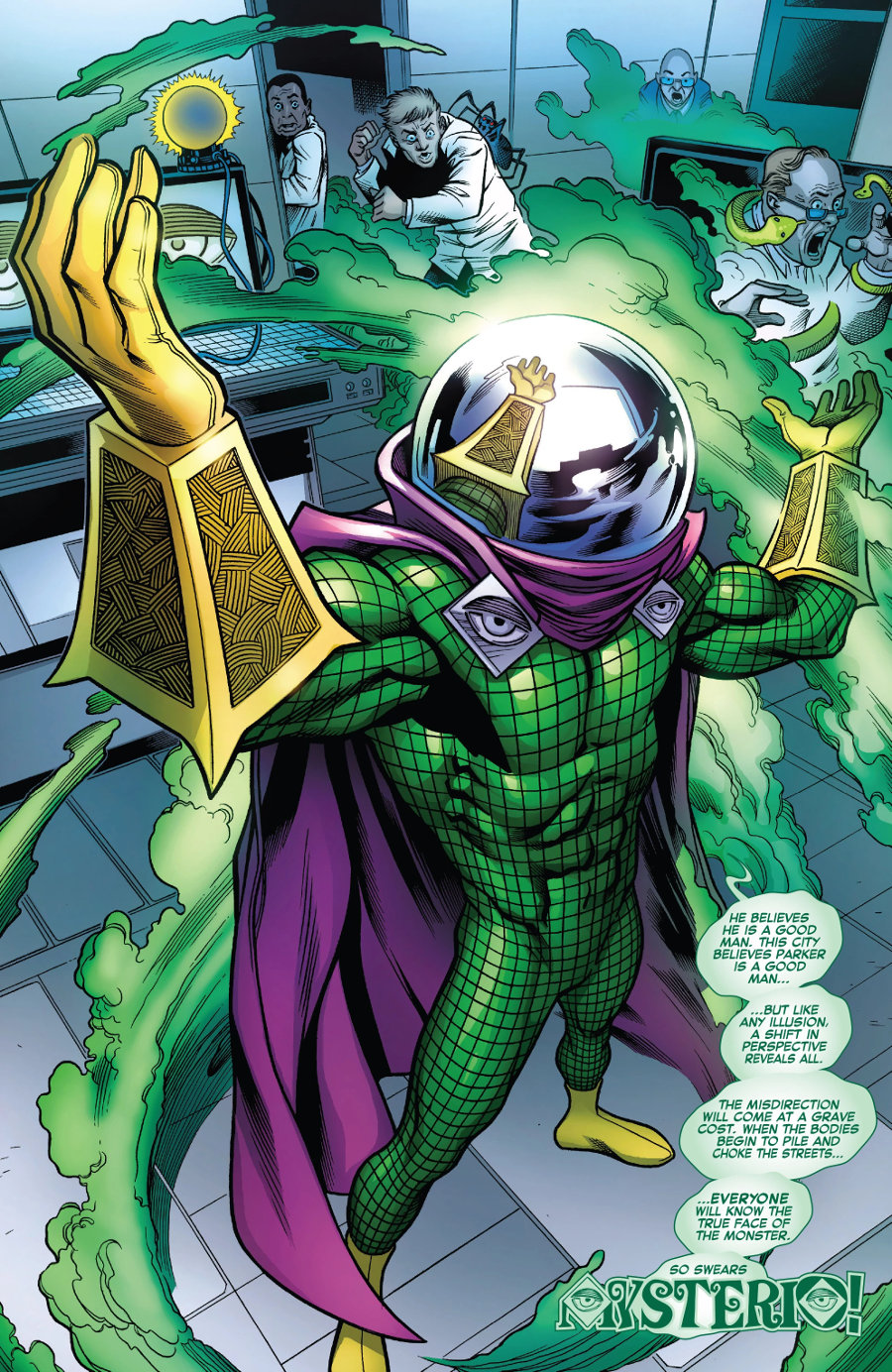 Marvel Comics Mysterio