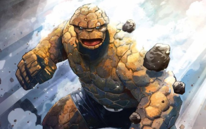 Dwayne Johnson Fantastic Four The Thing