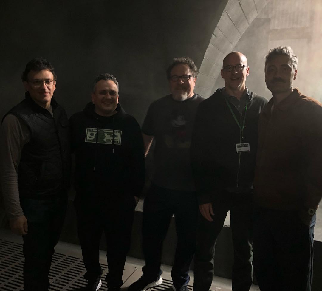 Marvel Directors Visit Star Wars The Mandalorian Set