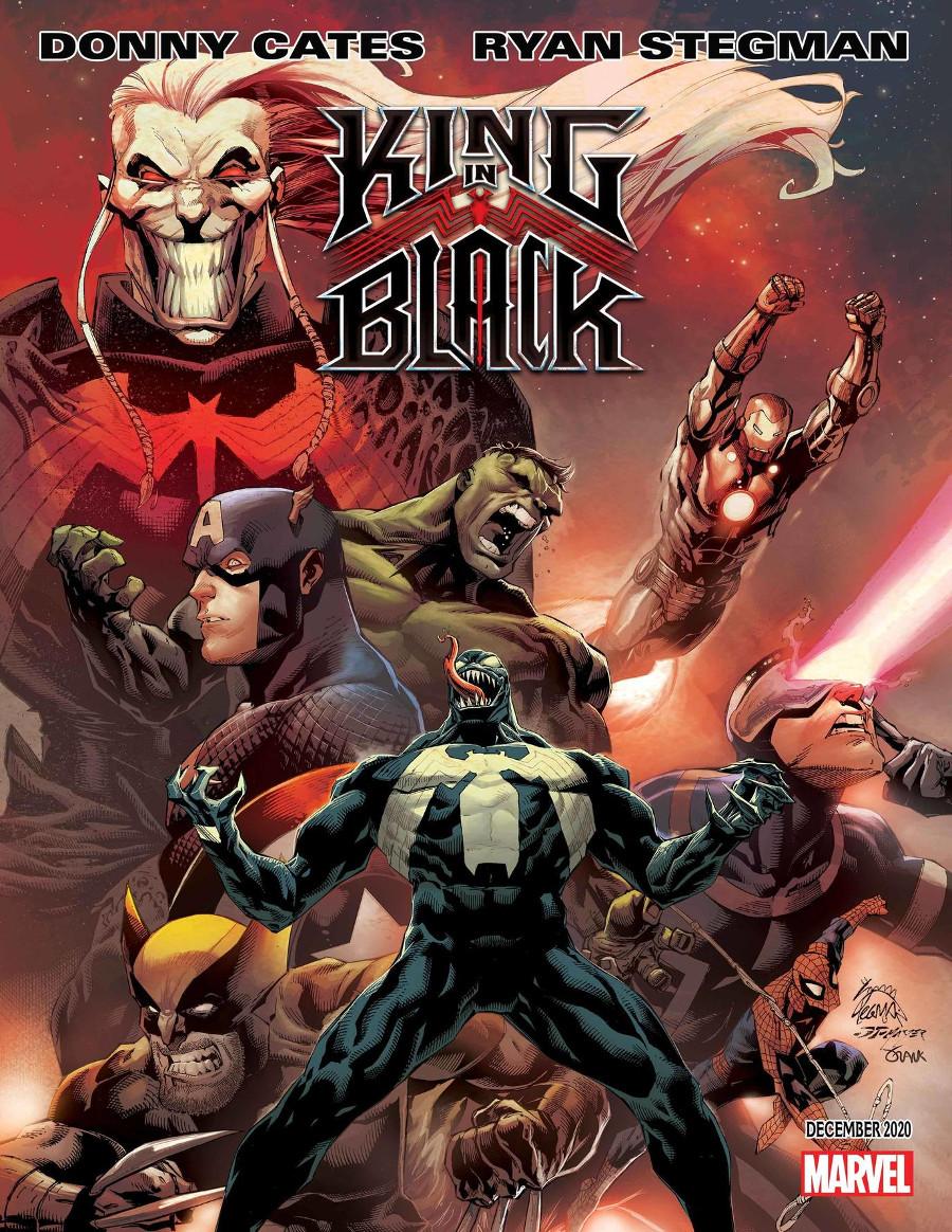 Marvel Comics Venom King in Black event Knull