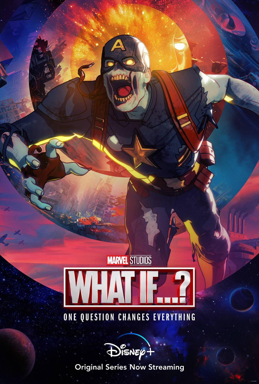 Marvel Zombies What If Captain America Poster