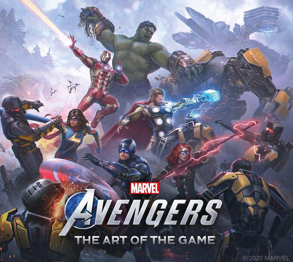 Marvel's Avengers art book
