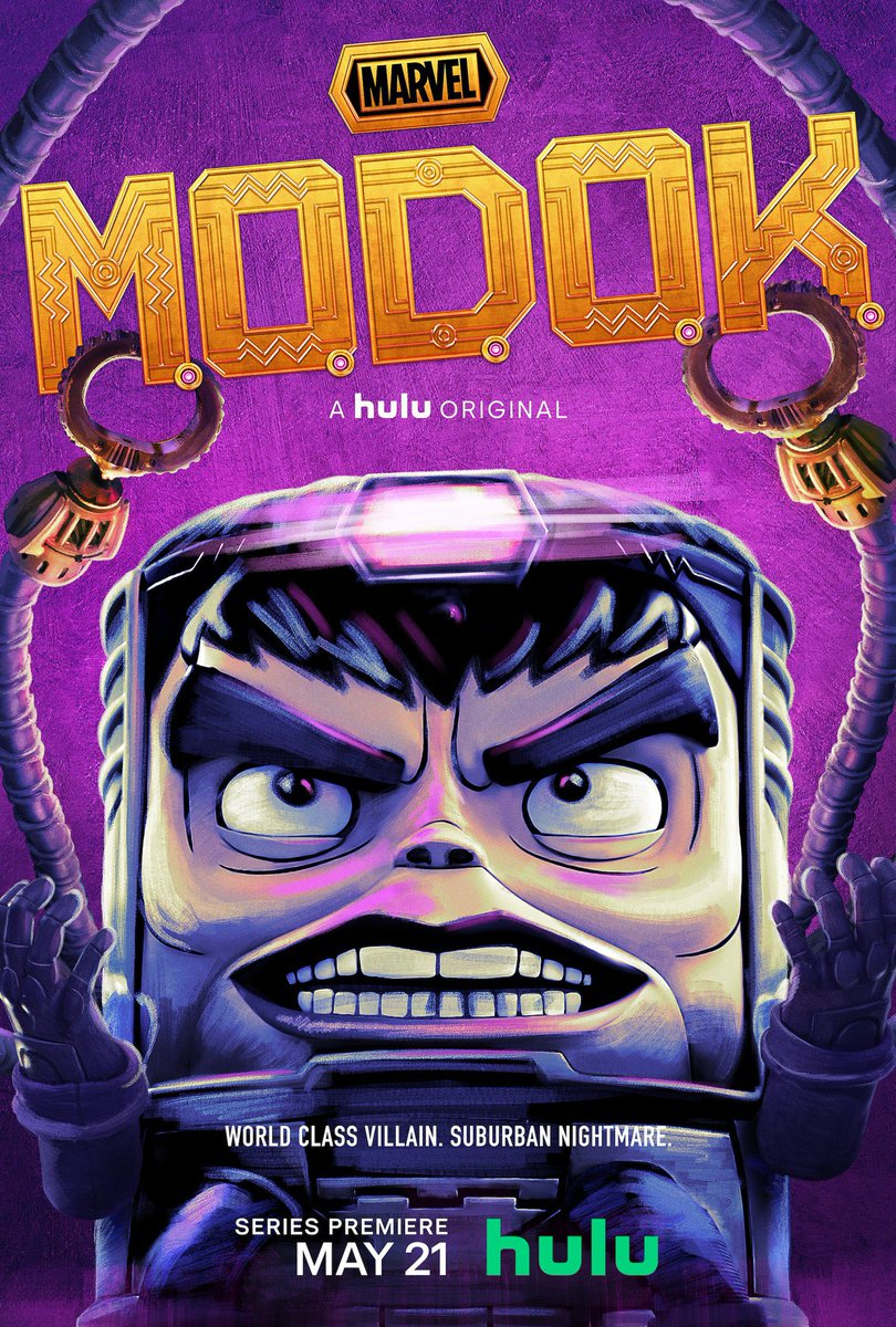 Marvels MODOK poster