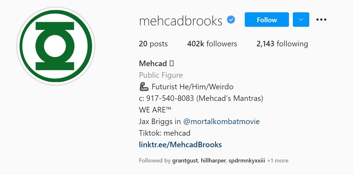 Mehcad Brooks Green Lantern