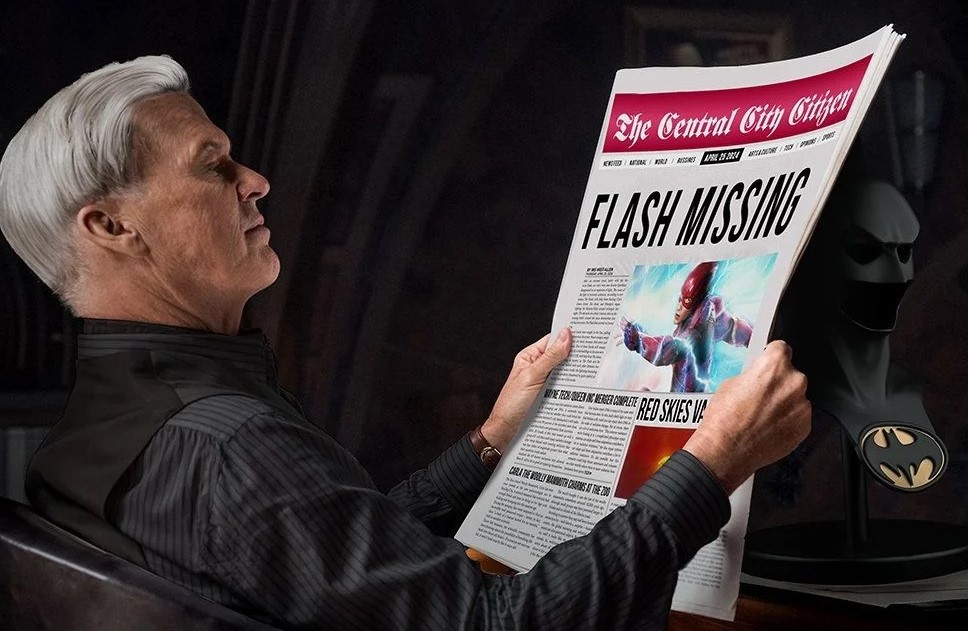Batman Michael Keaton The Flash