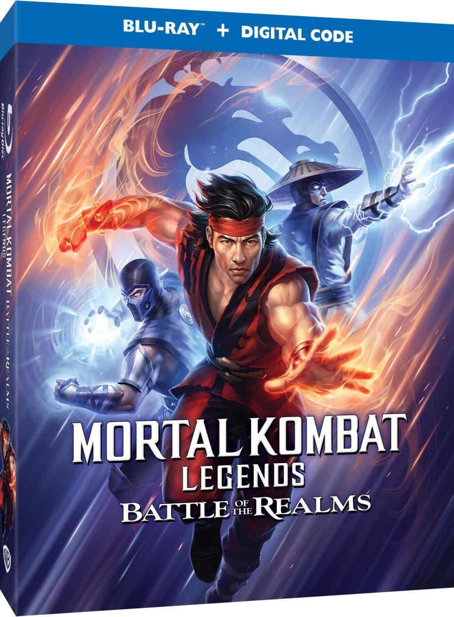 Mortal Kombat Legends: Battle of the Realms box art