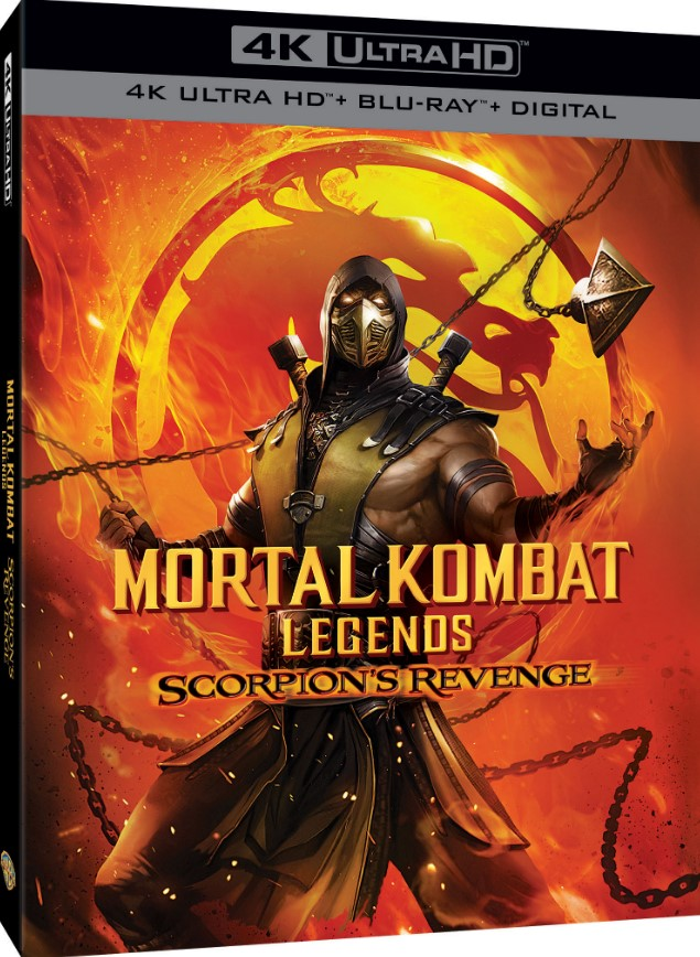 Mortal Kombat Legends: Scorpions Revenge box art