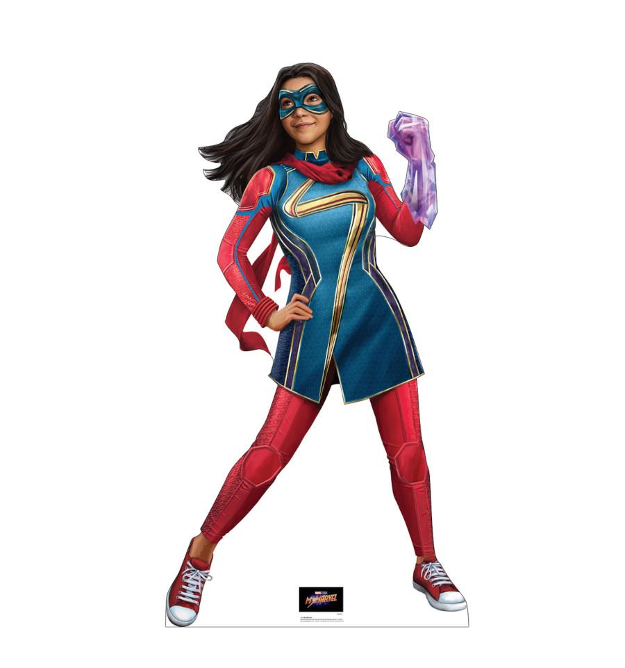 Ms Marvel powers promo art Disney Plus