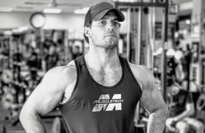 Henry Cavill Muscletech