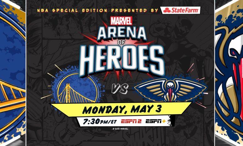 Marvel Arena of Heroes NBA ESPN