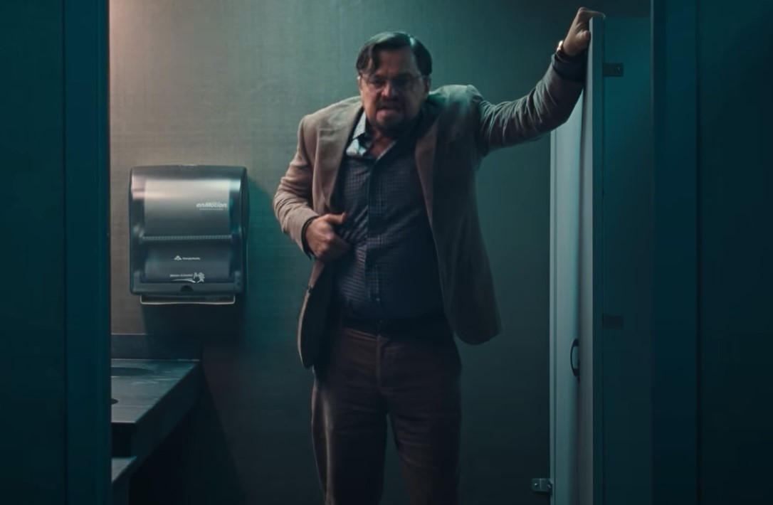 Netflix Don't Look Up trailer Leonardo DiCaprio