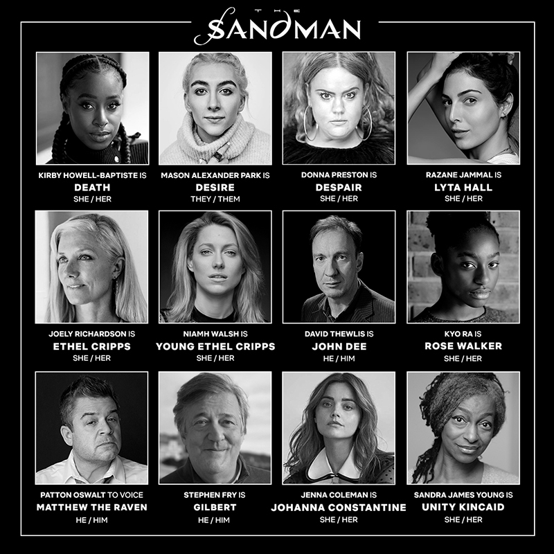 Netflix Sandman Casting