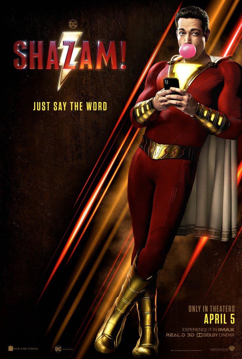 New Shazam! Poster