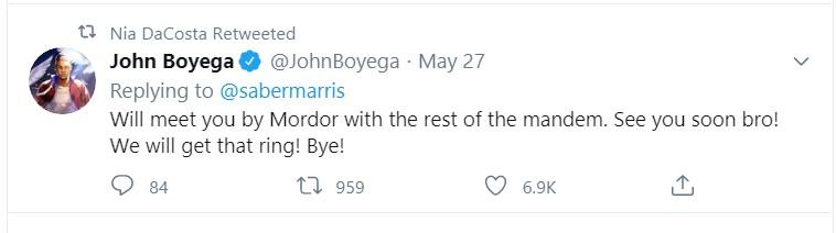 Nia DaCosta John Boyega