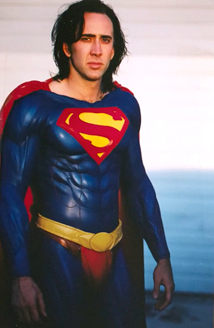 Nicholas Cage Superman Lives
