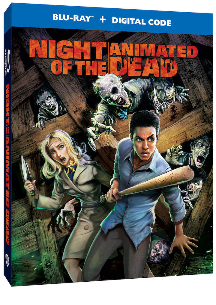 Night of the Animated Dead box art