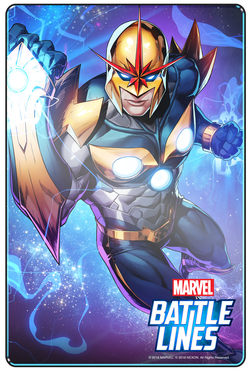 Nova Marvel Battle Lines
