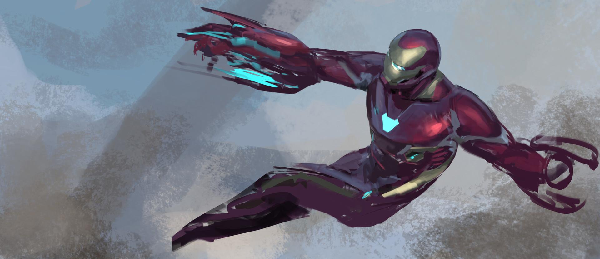 Infinity War Iron Man Mark 50 Concept Art Revealed Cosmic Book News