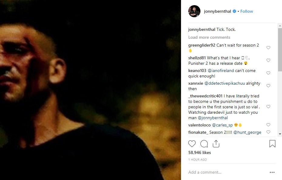 Punisher Season 2: Jon Bernthal Teases Release