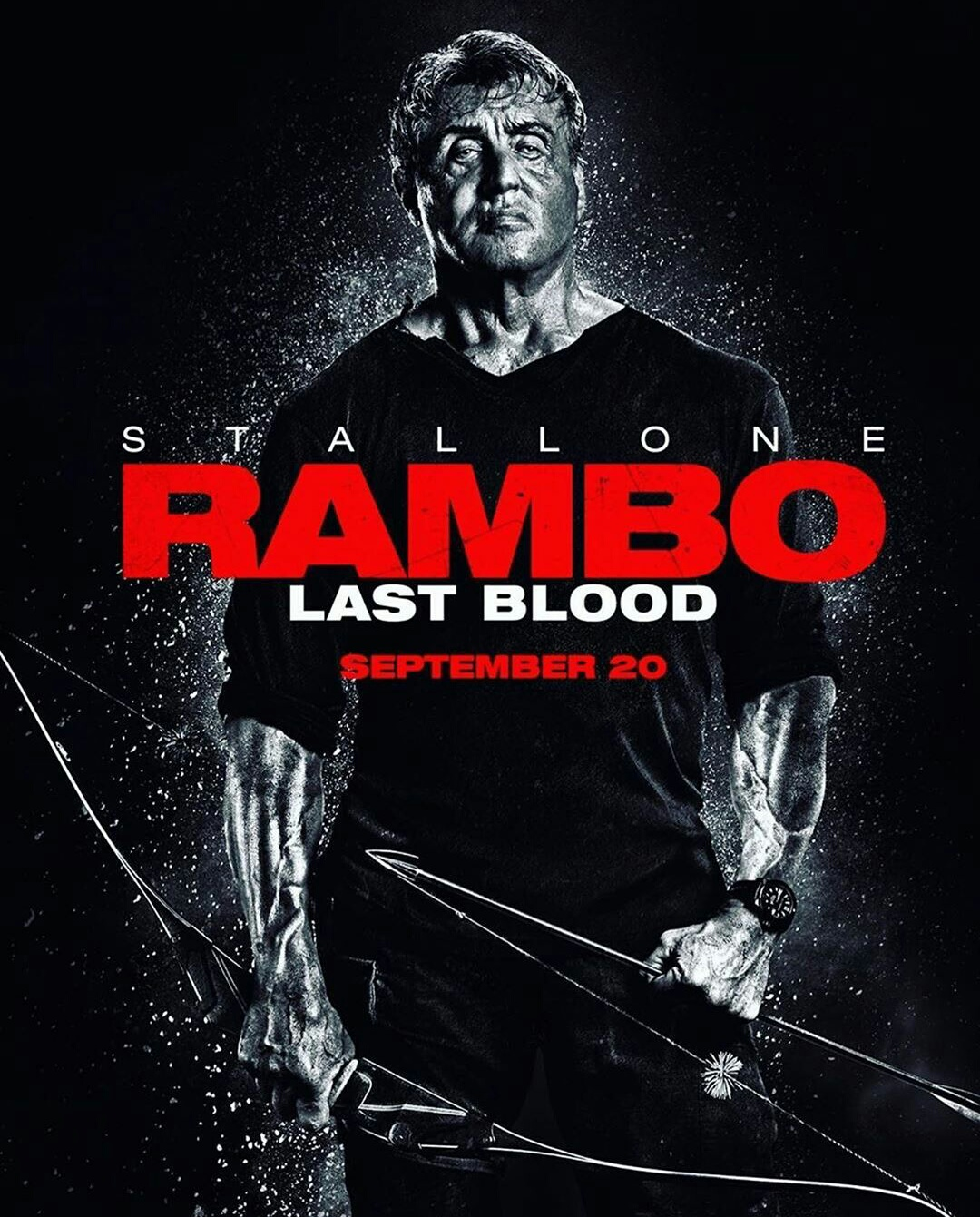 Rambo 5 Last Blood poster Sylvester Stallone