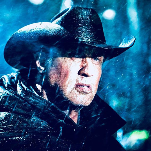 Sylvester Stallone Shows Off Rambo 5 Knife | Cosmic Book News