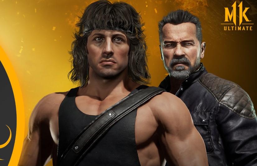 Mortal Kombat Rambo vs Terminator