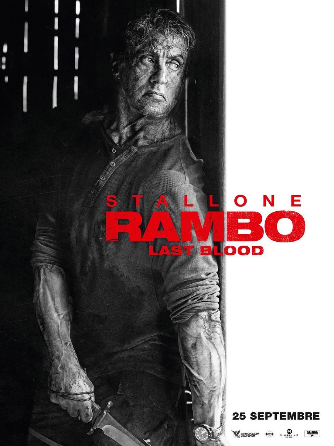 Rambo 5 last blood poster