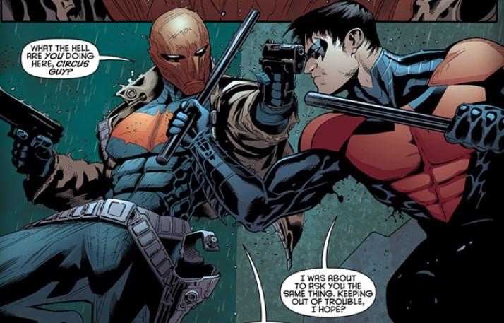 Red Hood vs Nightwing DC Comics