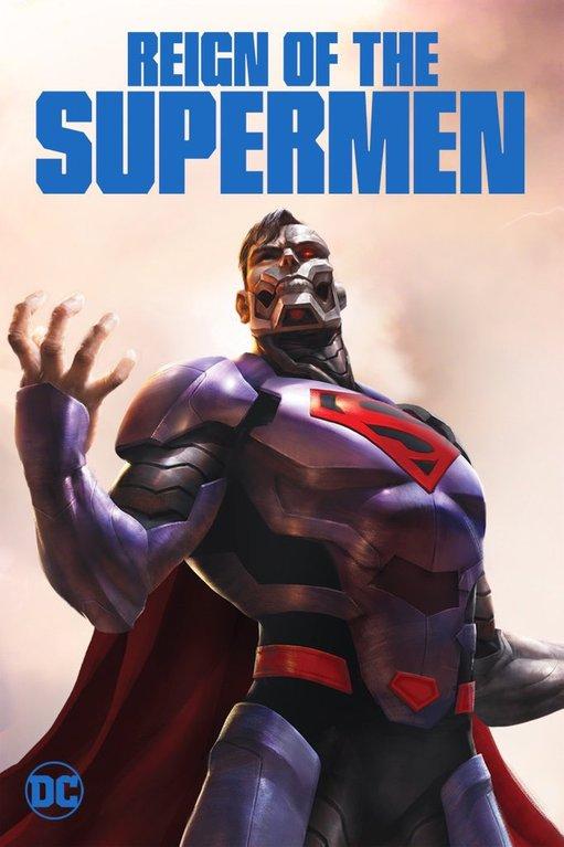 Reign Of Supermen Cyborg Superman poster