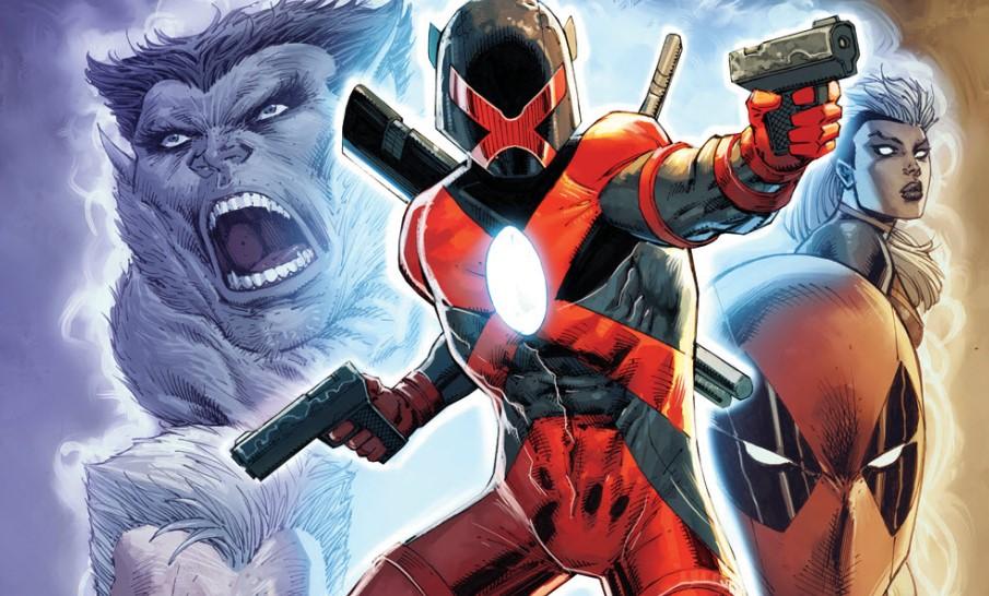 Rob Liefeld Reveals Dc Comics Images Crossover Twitter War Continues Cosmic Book News Deadpool ontwikkelaar rob liefeld debuteert nieuw marvel personage: rob liefeld reveals dc comics images