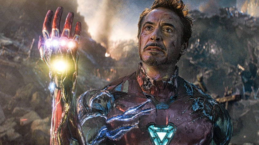 Robert Downey Jr Iron Man
