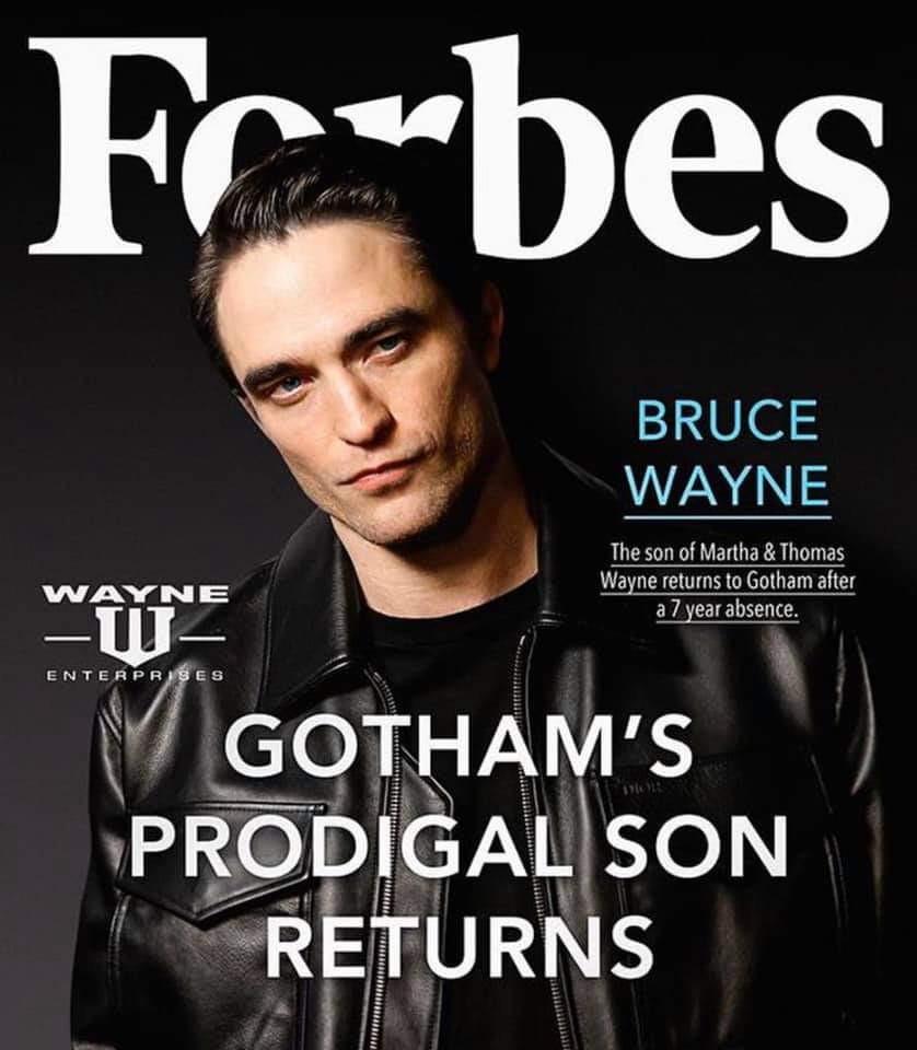 Robert Pattinson Bruce Wayne Batman fan art
