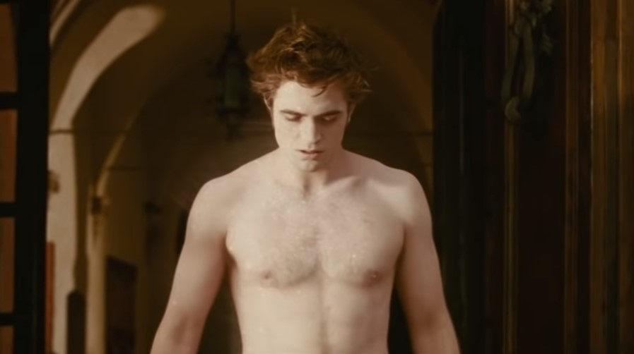 Robert Pattinson shirtless Twilight