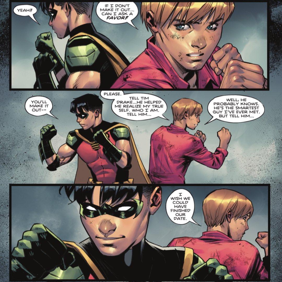 Robin Gay Bisexual DC Comics
