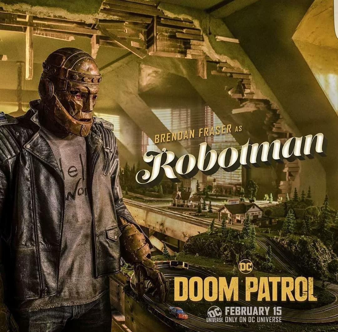 Doom Patrol Brendan Fraser Robotman