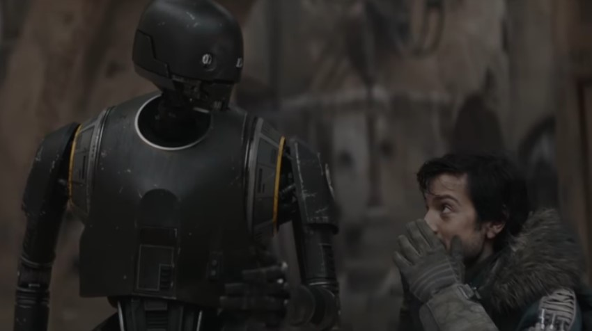 Alan Tudyk Diego Luna Star Wars Rogue One