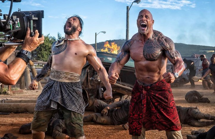 Roman Reigns Fast and Furious: Hobbs and Shaw