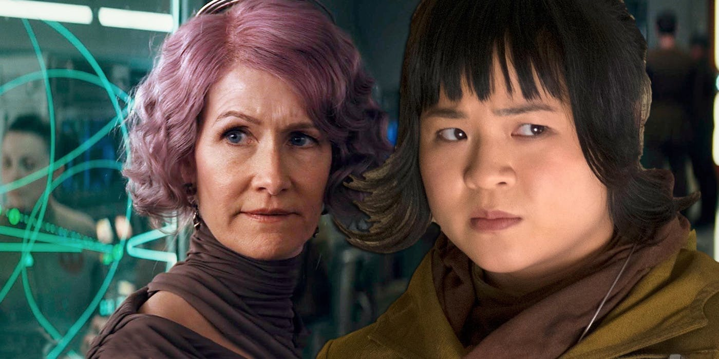 Disney Star Wars Brie Larson Rose Tico Holdo