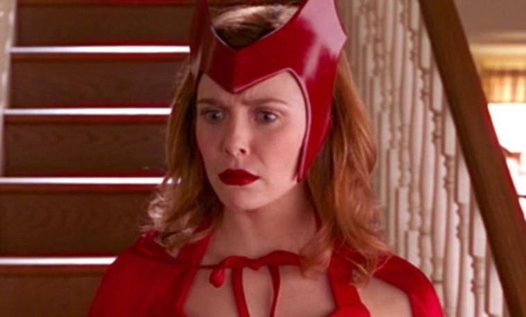 Elizabeth Olsen Scarlet Witch WandaVision