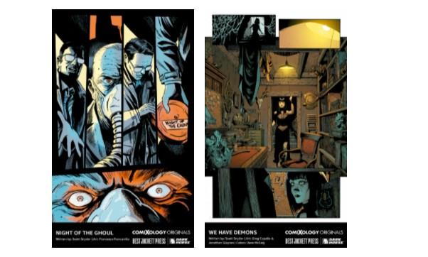 Scott Snyder comixology dark horse comic books