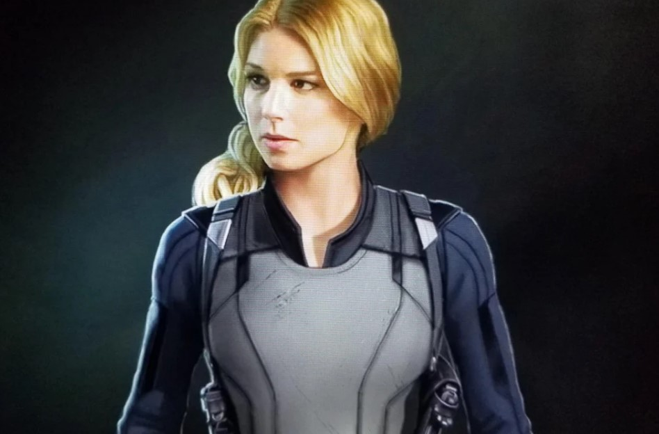 The Falcon and the Winter Soldier Sharon Carter concept art
