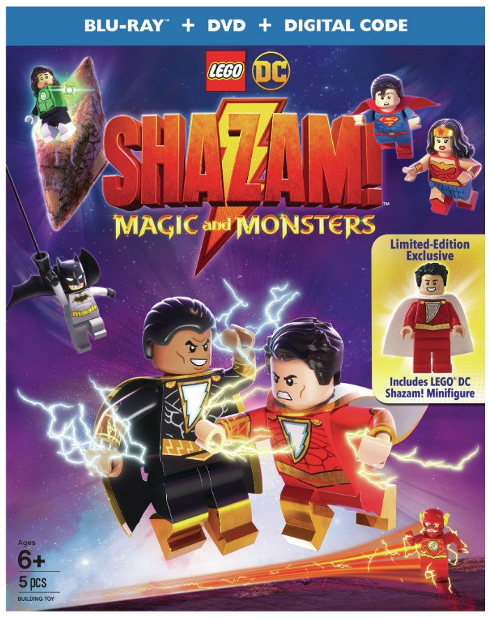 Shazam Magic and Monsters